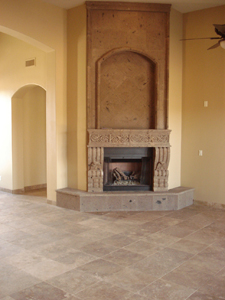 AJF Fireplace