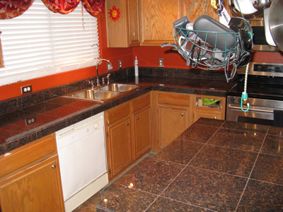 Peterson Granite Kitchen 1